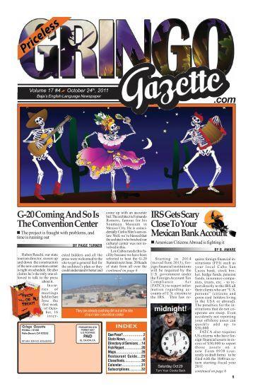 October 24th, 2011 - the Gringo Gazette