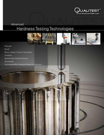Hardness Testers - Dzc Marketing