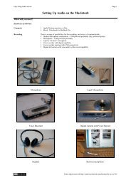Configuring audio on a Mac
