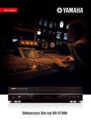 Odtwarzacz Blu-ray BD-S1900 - AUDIO KLAN
