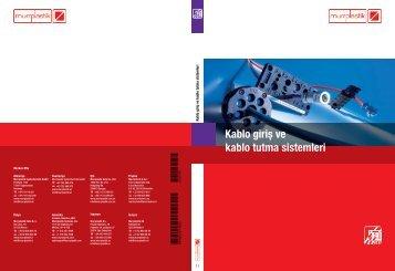 Kablo giriş ve kablo tutma sistemleri - Kablo Etiketi