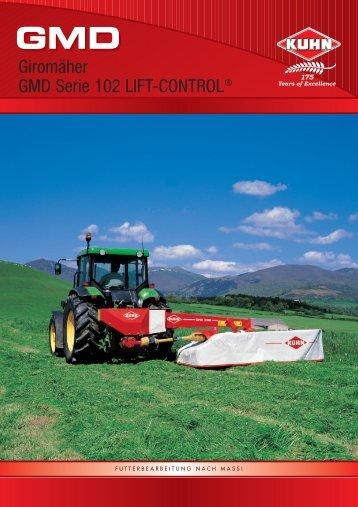 Giromäher GMD Serie 102 LIFT-CONTROL®