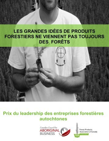 les détails en format PDF - Forest Products Association of Canada