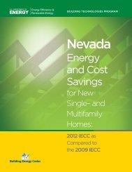 Nevada - Building Energy Codes