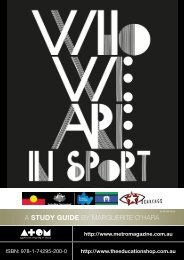 to download WHO WE ARE IN SPORT Study Guide - Ronin Films