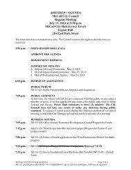 07/11/2013 Agenda - The City of McCall