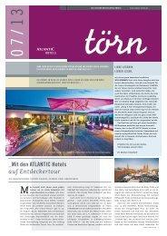 Ausgabe 07/13 - ATLANTIC Hotels