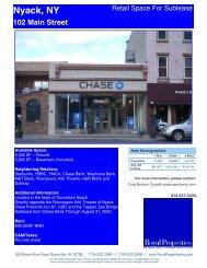 Nyack, NY 102 Main Street - Royal Properties, Inc.