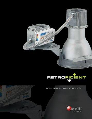 Commercial Retrofit Downlights - Prescolite
