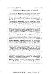 EGMR-Urteile, alphabetisch und mit Sachbezug