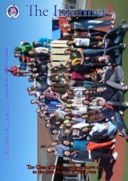 The Class of 2013 - the International School of Stavanger