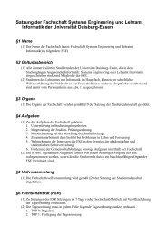Satzung der Fachschaft Systems Engineering und Lehramt ... - FSE