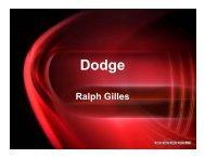 Business Plan: Presentation 1 - Dodge Brand - Chrysler Group LLC
