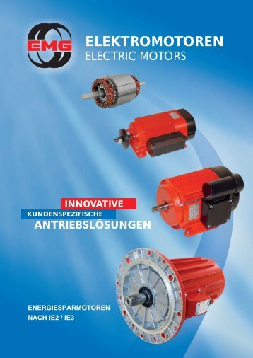 Katalog (PDF) - Elektromotorenwerk GmbH & Co. KG