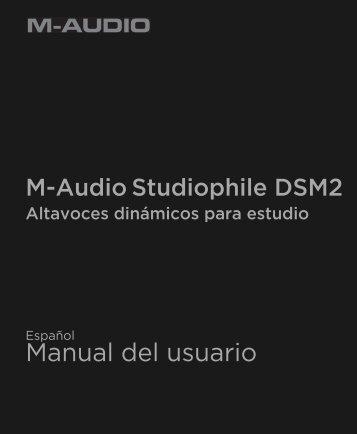 DSM2 manual - M-Audio