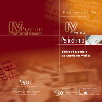 Ver bases - Sociedad Española de Oncología Médica