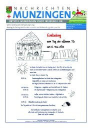Donnerstag, den 3. Mai 2012 Jahrgang 2012 Nummer 18