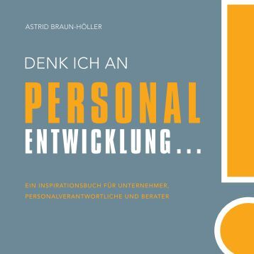 """Leseprobe """"Denk ich an Personalentwicklung"""" - Financebooks.de"""