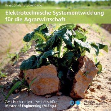 Elektrotechnische Systementwicklung für die Agrarwirtschaft