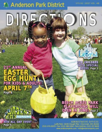 EASTER EGG HUNT - Anderson Township Park District