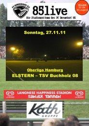 ELSTERN – TSV Buchholz 08 Sonntag, 27.11.11 - FC Bergedorf 85