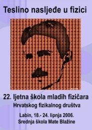 Zbornik ljetne škole (pdf, 5.4 MB) - Ljetna škola HFD-a - Hrvatsko ...