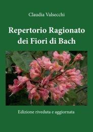 Repertorio Ragionato dei Fiori di Bach - Youcanprint