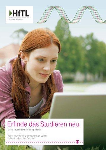 Hf TL-Imagebroschuere - Hochschule für Telekommunikation Leipzig