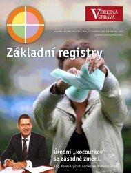 Základní registry - Správa základních registrů