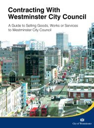 Contracting with Westminster.pdf - Westminster City Council