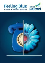 Feeling Blue - Guide to Support Services - Darwin City Council ...