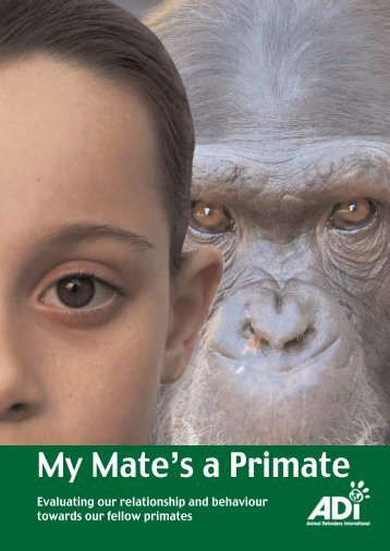 My Mate's a Primate: Entertainers - NAVS