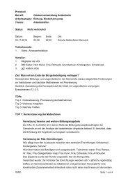 Protokoll der 6. AG-Sitzung vom 05.11.2012 - Gottenheim