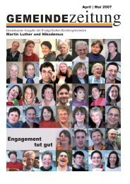 Ausgabe April/Mai 2007 - Martin-Luther-Kirche