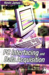 PC Interfacing and Data Acquisition – Techniques for ... - Yidnekachew