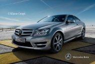C-Klasse Coupé. - Mercedes-Benz Magyarország