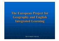 The EU project for CLIL COMMUNICATION