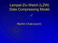 Liv-Zempel (LZ) Data Compressing Model - Andreas Schrader