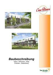 Download Baubeschreibung - Haus 2 und 3 - 2. Obergeschoss