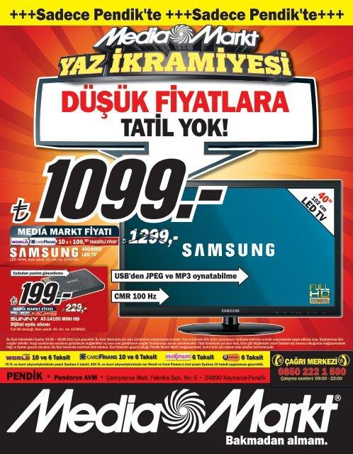 TATÄ°L YOK! - Media Markt