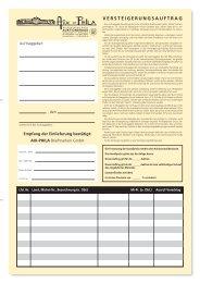 versteigerungsauftrag - Aix-Phila Briefmarken GmbH