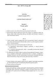 Dz.U. 1997 Nr 133 poz. 883 USTAWA z dnia 29 sierpnia 1997 r. o ...