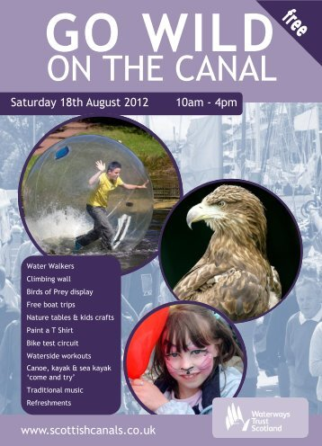 ON THE CANAL - Scottish Canals