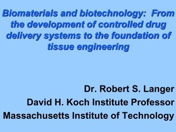 Biomaterials and Biotechnology
