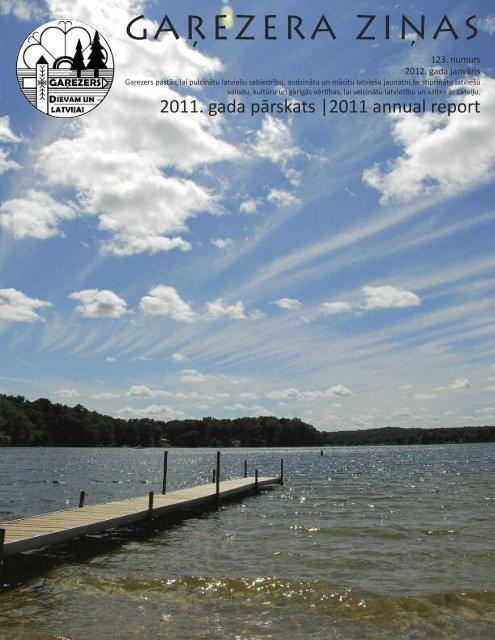 Annual report 2011 - Garezers