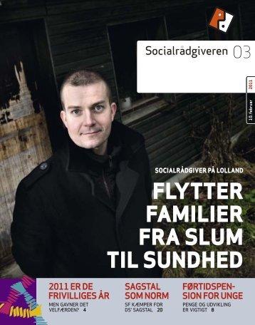 Socialrådgiveren nr. 3-2011 - Dansk Socialrådgiverforening
