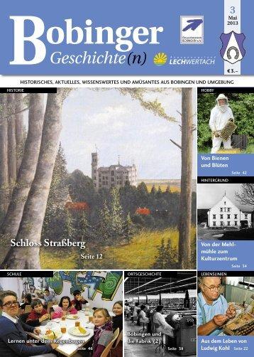 Bobinger Geschichten - Kohl – wasser.wärme