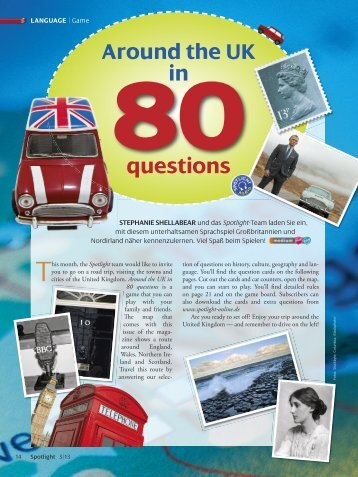 download all 80 questions from the magazine - Spotlight Online