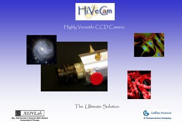Highly Versatile CCD Camera The Ultimate Solution