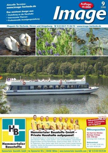 Auflage: 14.000 Hammertaler Baustoffe GmbH ... - Image Herbede